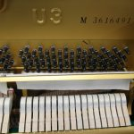 used yamaha piano U3 - excellent condition - interior