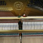 used yamaha piano U3 - excellent condition - interior logo