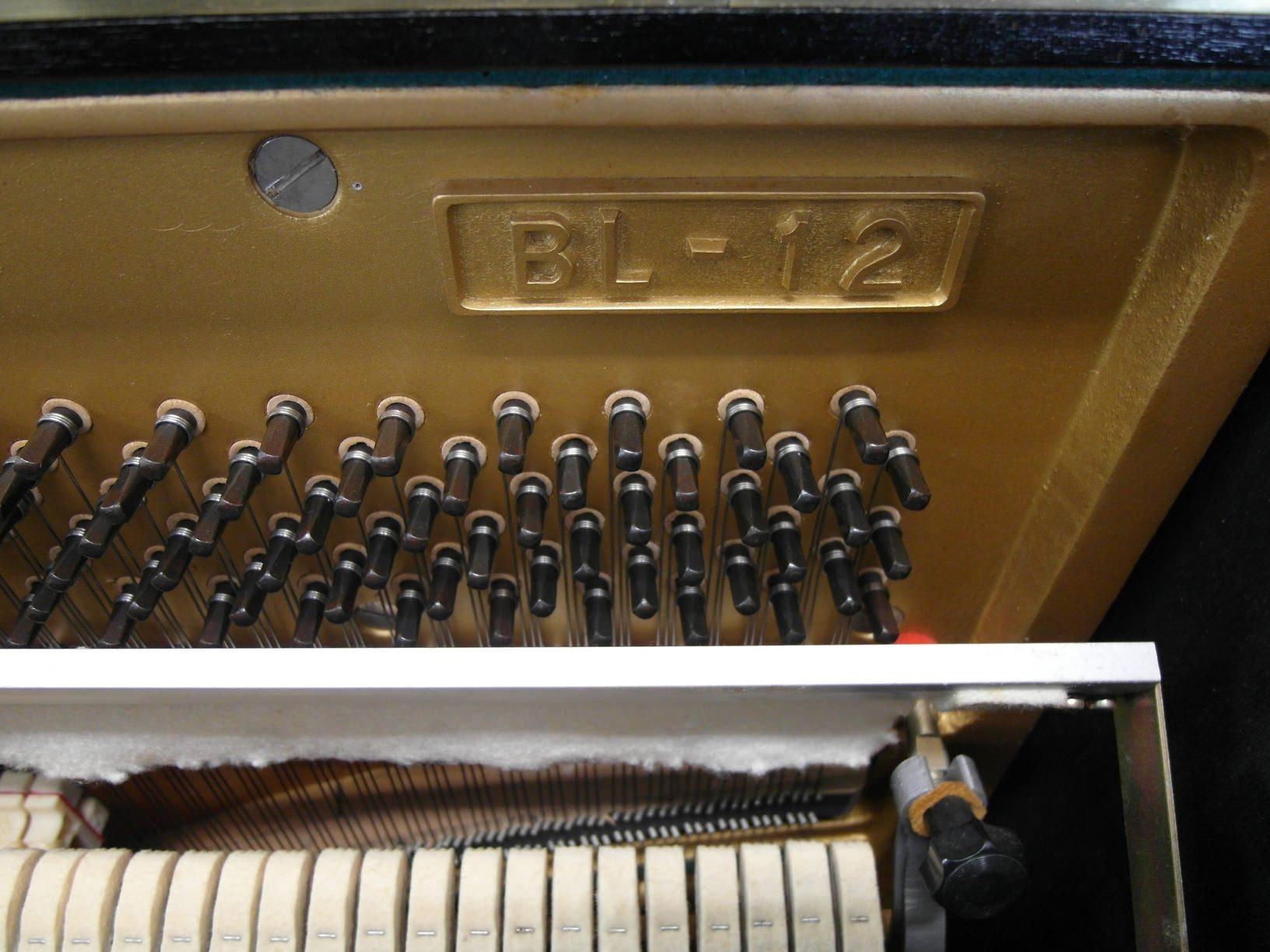 used kawai piano BL-12 interior