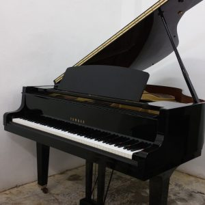 YAMAHA GH1B Grand Piano Opened
